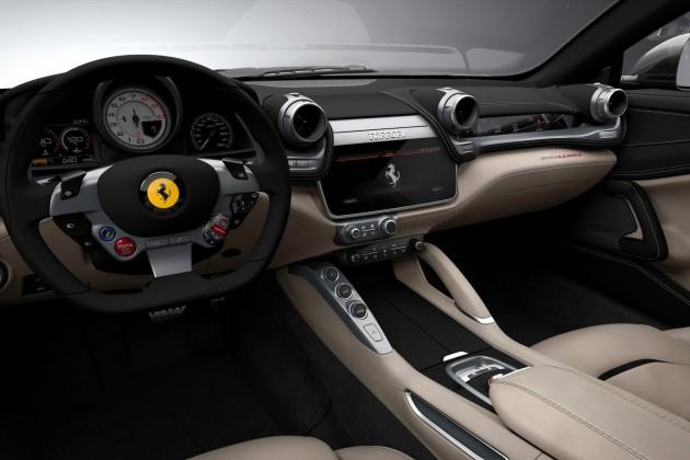 Ferrari GTC4Lusso-interior