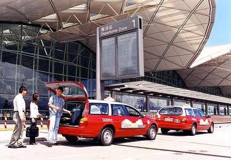 Ford AU Falcon Hong Kong taxi