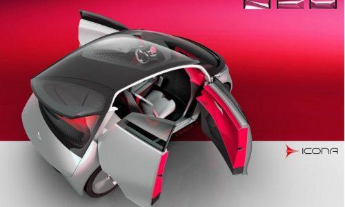 Icona Neo concept previews futuristic EV city car