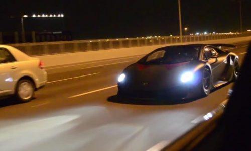 Video: Lamborghini Sesto Elemento screams on the street