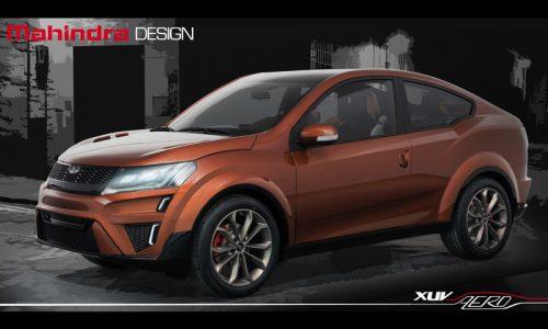 Mahindra XUV Aero concept revealed at Auto Expo