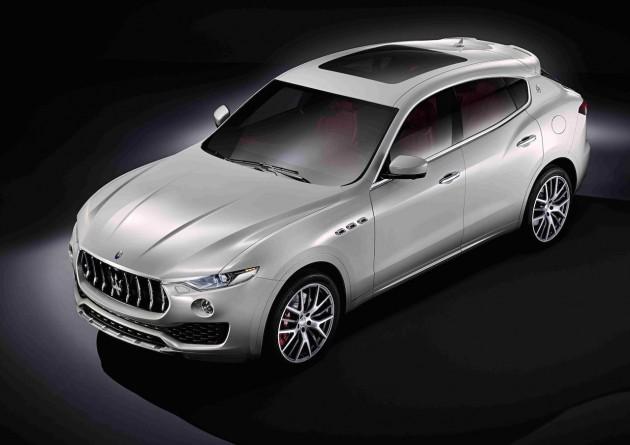 Maserati Levante-production car