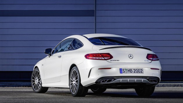 Mercedes-AMG C 43 Coupe-rear
