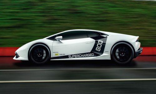Lamborghini Huracan gets supercharger kit by O.CT TUNING