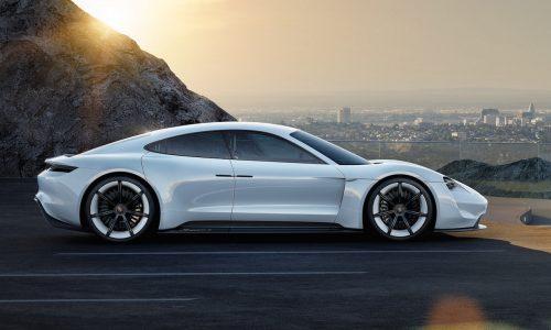 Porsche Mission E EV sports car development starts, codenamed J1