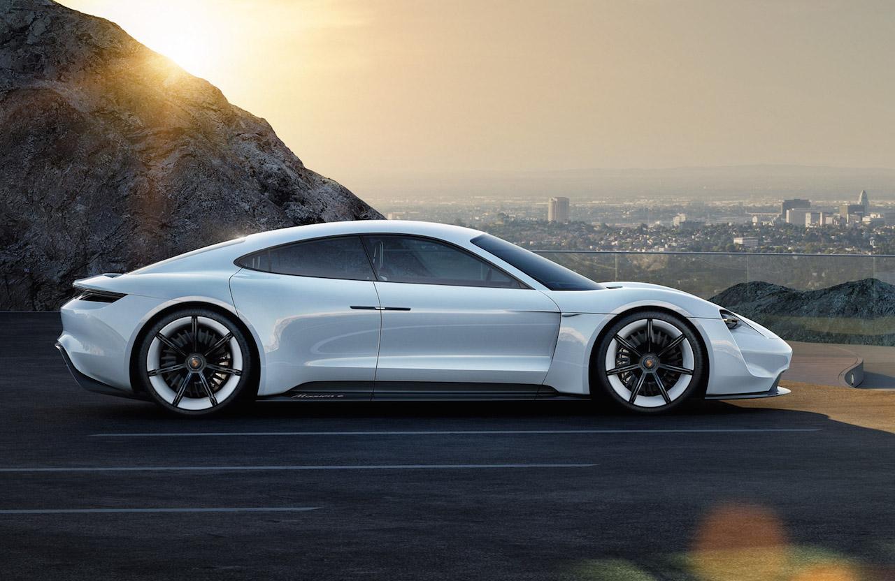 Porsche Electric Concept >> Porsche Mission E EV sports car development starts, codenamed J1 | PerformanceDrive