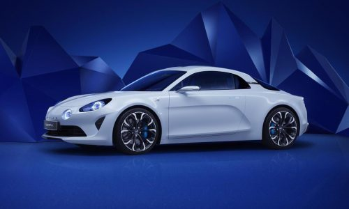 Renault Alpine Vision concept revealed, production version later in 2016