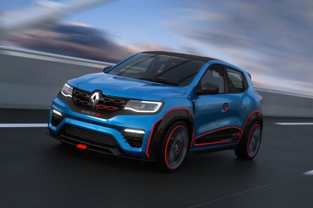 Renault KWID RACER-driving