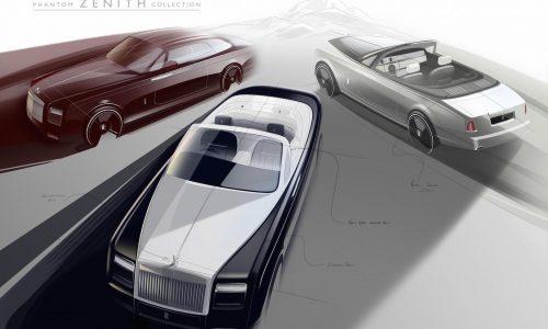 Rolls-Royce Phantom Zenith edition to send off current-gen