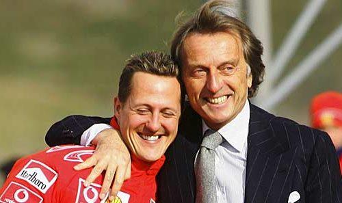 Former Ferrari boss Montezemolo speaks about Schumacher