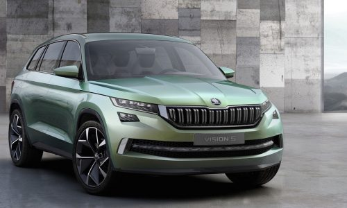 Skoda VisionS concept revealed, previews future 7-seat SUV
