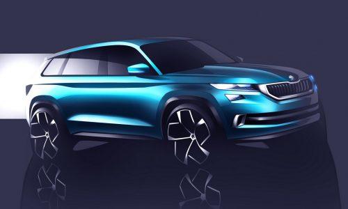 Skoda VisionS concept previews future 3-row-seat SUV