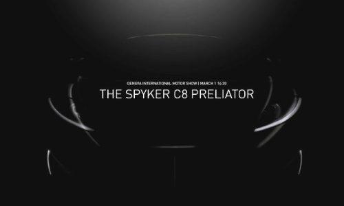Spyker C8 Preliator previewed before Geneva debut