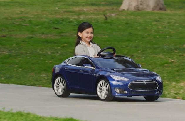 Toy Tesla Model S
