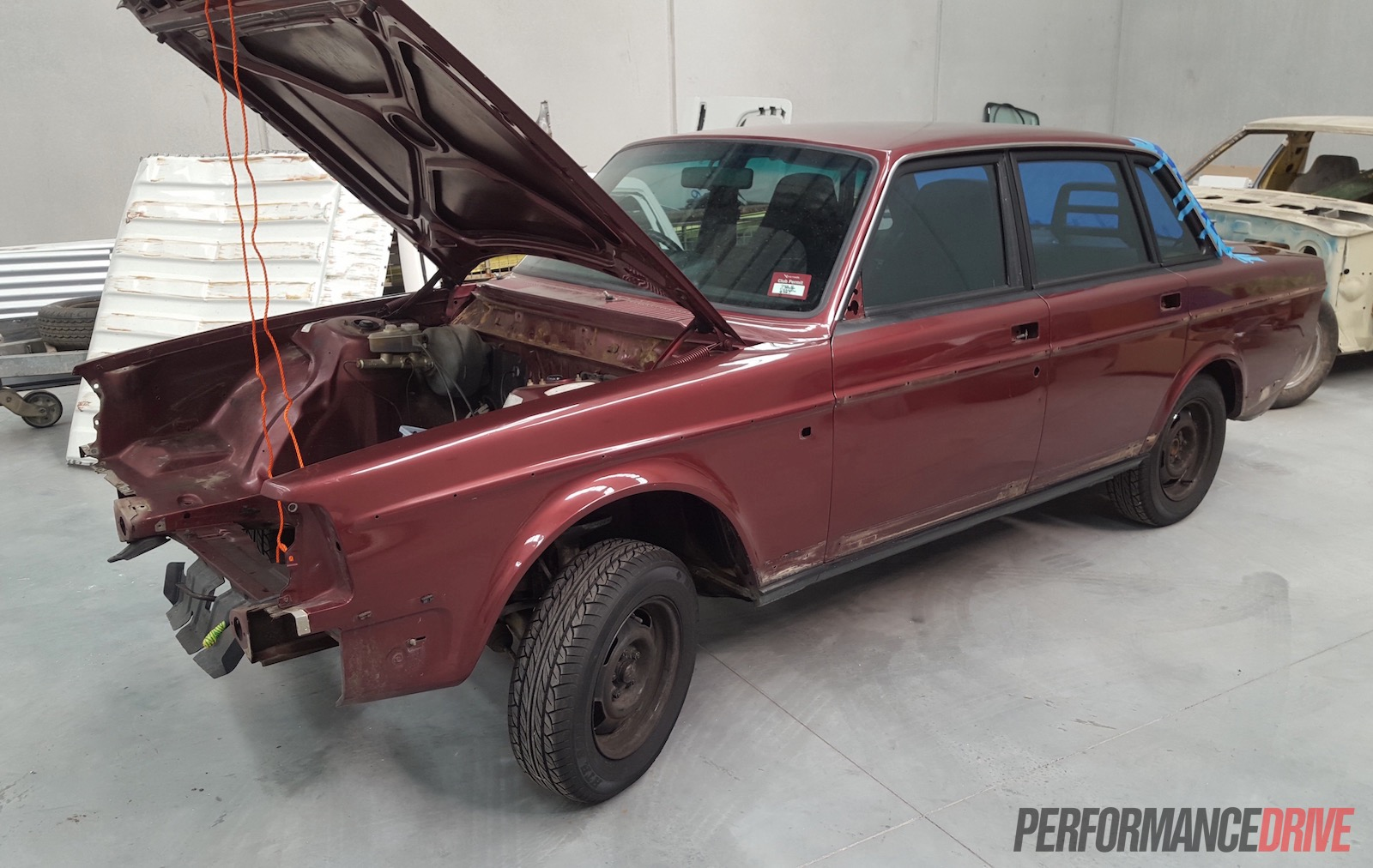 Volvo 240 GL with LS1 V8 conversion project: Part 6 - off to paint shop | PerformanceDrive