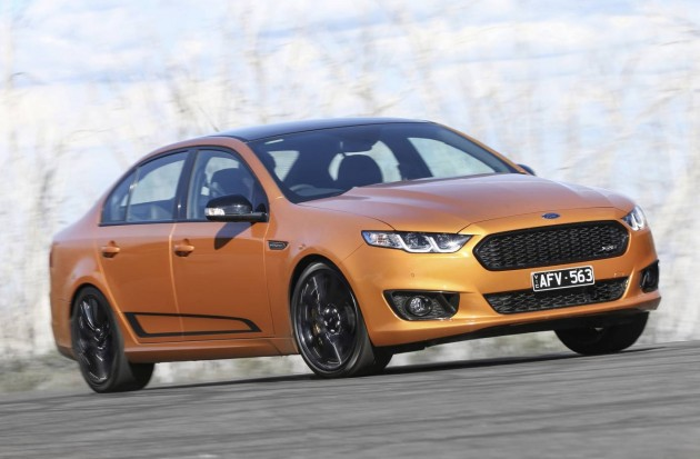 2016 Ford Falcon XR8 Sprint-driving