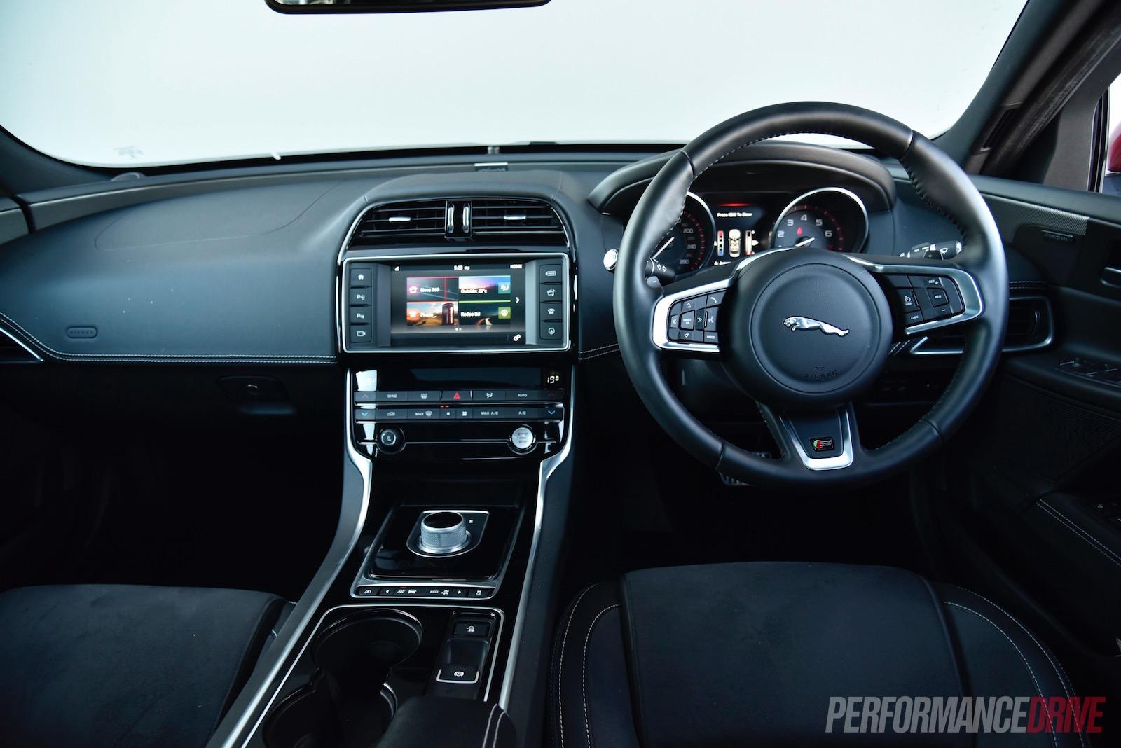 Hand Controls For Car >> 2016 Jaguar XE S review (video) | PerformanceDrive