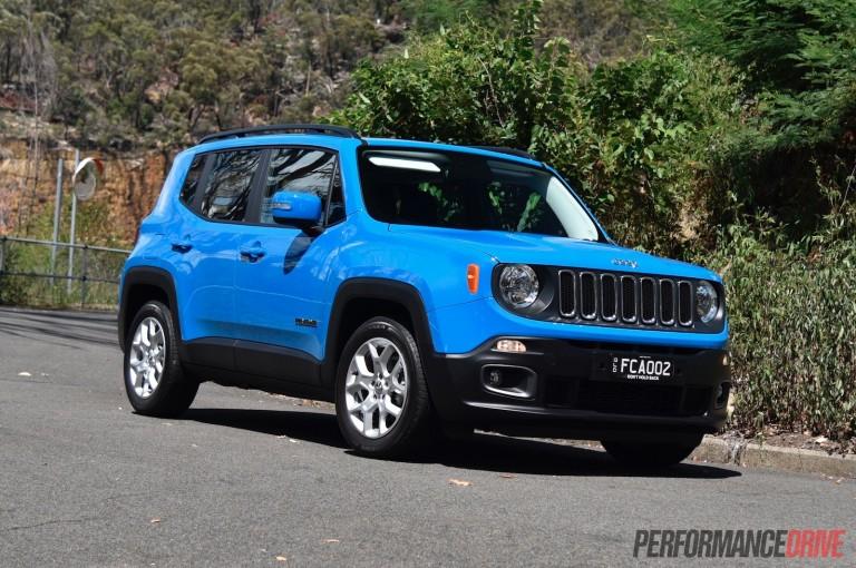 2016 Jeep Renegade Longitude review (video)