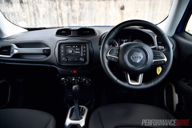 2016 Jeep Renegade Longitude-dash