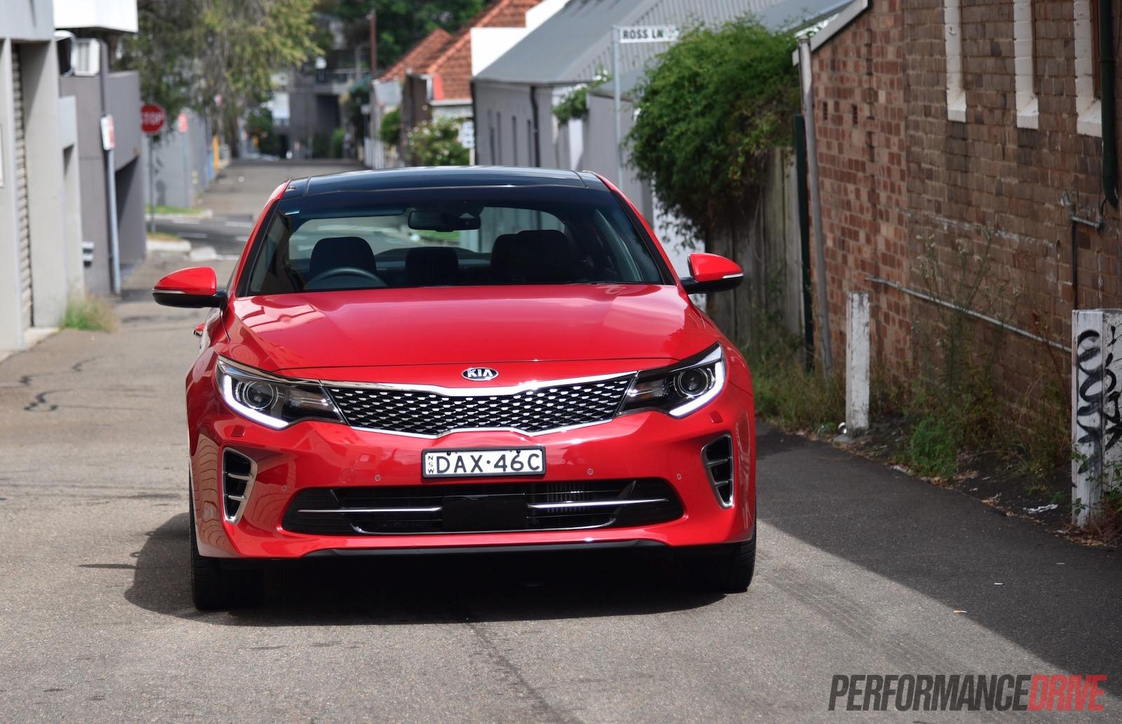 2016 Kia Optima Gt Turbo Review Video Performancedrive Modified Healights