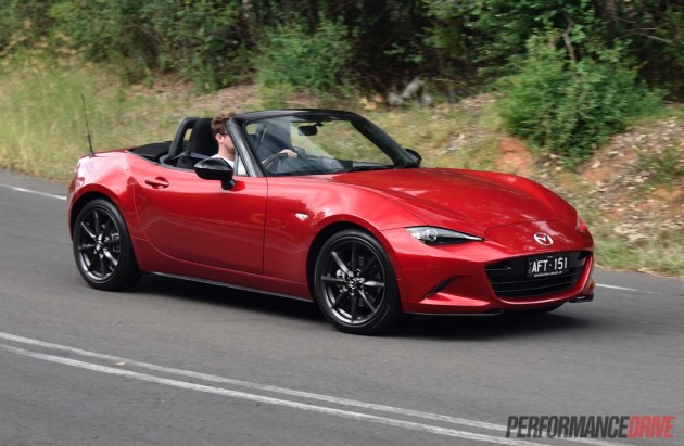 2016 Mazda MX-5 Roadster 2L-red