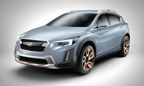 Subaru XV concept previews next-gen design direction