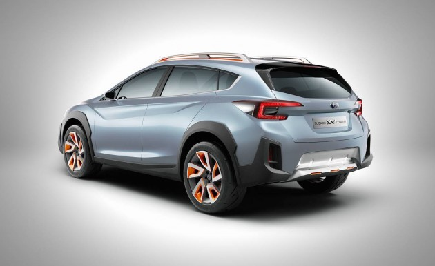 2016 Subaru XV concept-rear