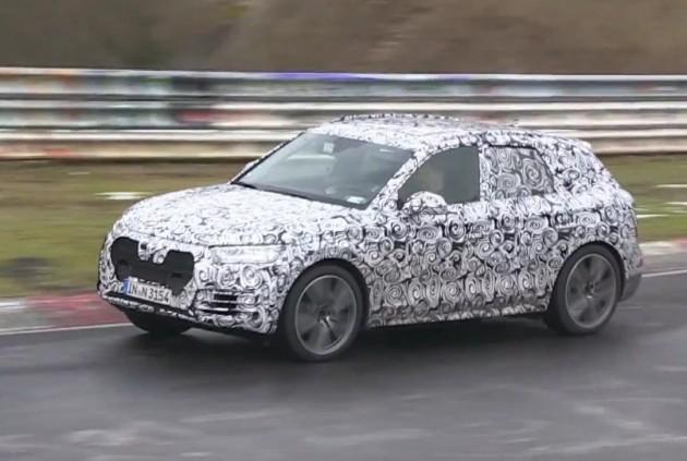 2017 Audi Q5 prototype