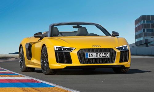 2017 Audi R8 Spyder is lighter, more powerful & more efficient