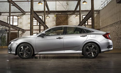 2017 Honda Civic sedan on sale in Australia in June, 1.5 turbo confirmed