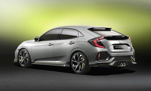 2017 Honda Civic prototype previews all-turbo next-gen hatch