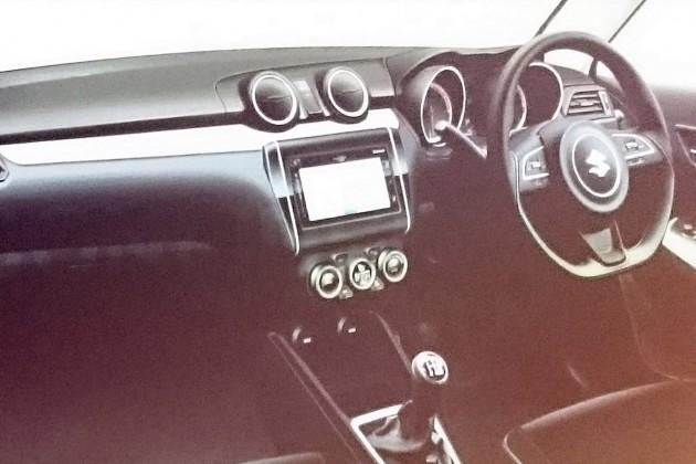 2017 Suzuki Swift-interior