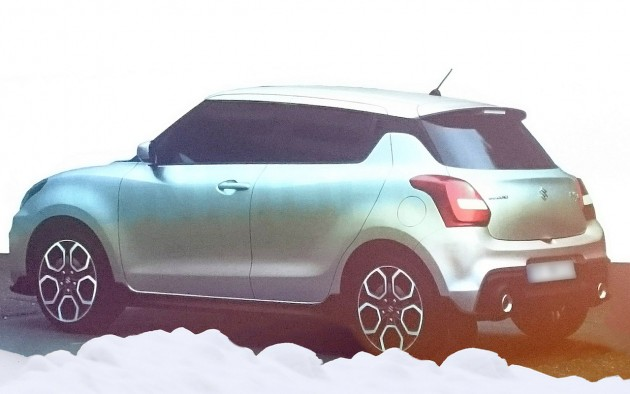 2017 Suzuki Swift-rear