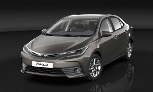 2017 Toyota Corolla sedan goes for premium look