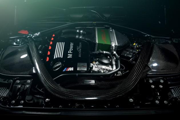 AC Schnitzer BMW ACL2 M235i-M4 engine