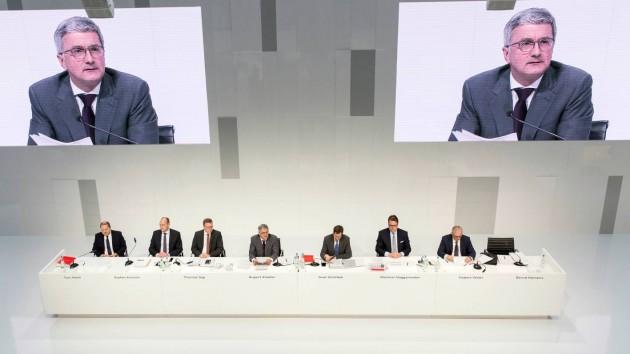 Audi 2016 annual press conference