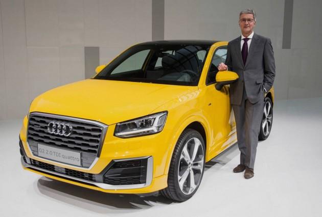 Audi Q2-Rupert Stadler