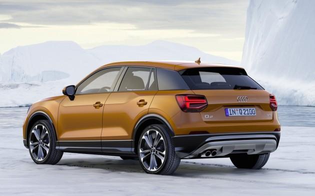 Audi Q2-rear