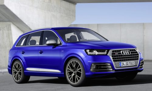 Audi SQ7 performance SUV revealed, gets tri-turbo TDI V8