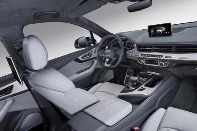 Audi SQ7-interior