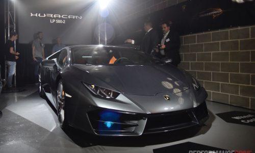 Lamborghini Huracan LP 580-2 makes Australian debut