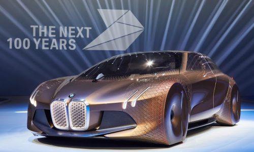 BMW VISION NEXT 100 concept unveiled, celebrates 100th anniversary