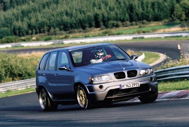 BMW X5 Le Mans-Nurburgring