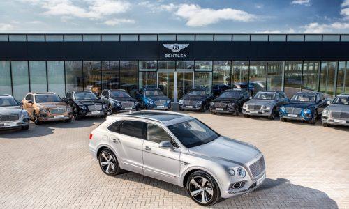 First Bentley Bentayga SUVs handed to customers