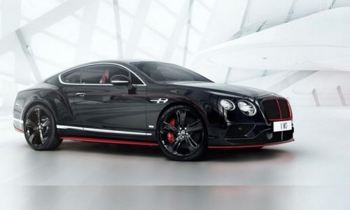 Bentley Continental GT Black Speed edition announced for Australia