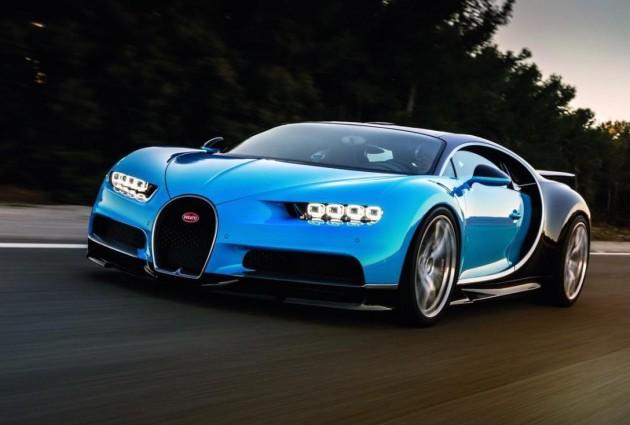 Bugatti Chiron-road