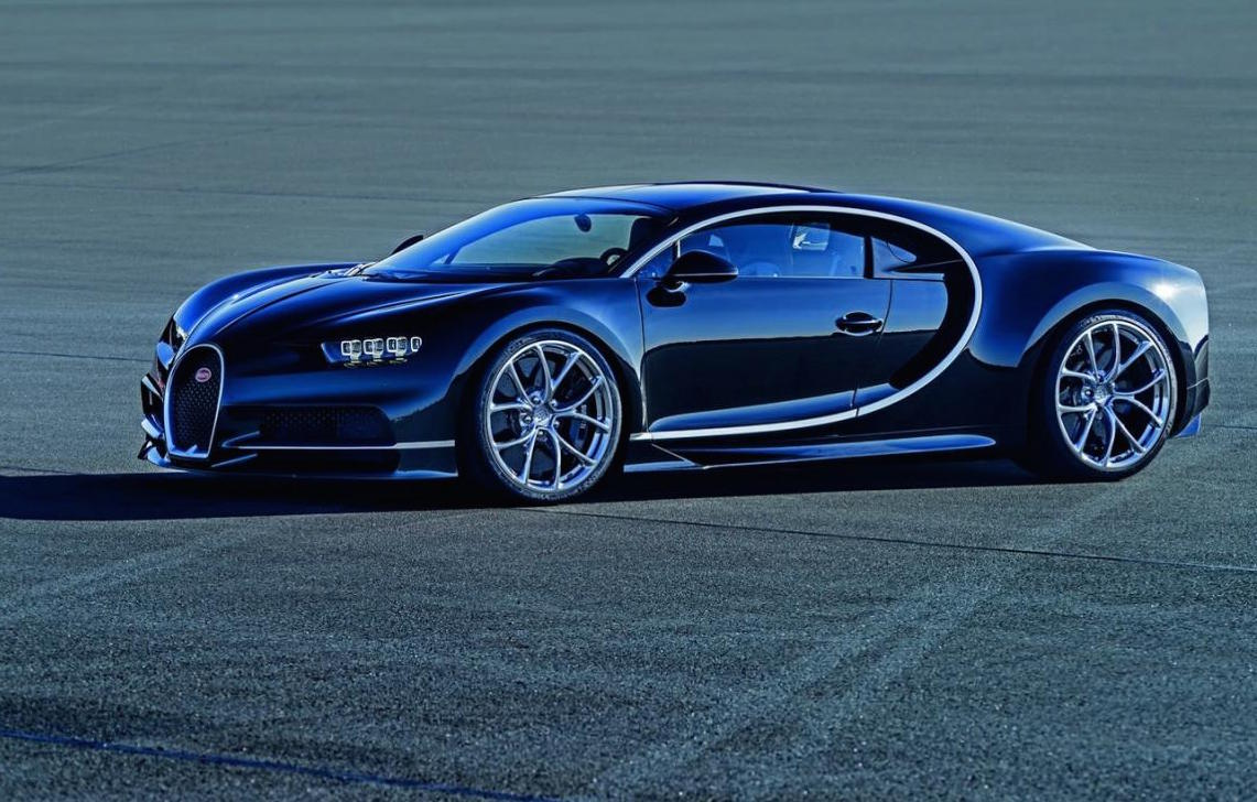 Bugatti Chiron Officially Revealed 1500hp Veyron