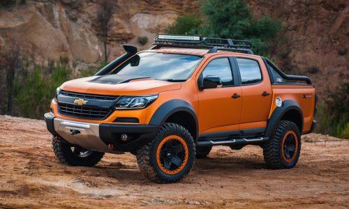 Colorado Xtreme & Trailblazer Premier concepts designed in Australia