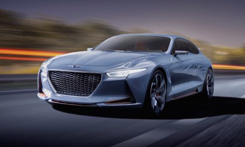 Genesis New York Concept unveiled, previews new mid-size sedan