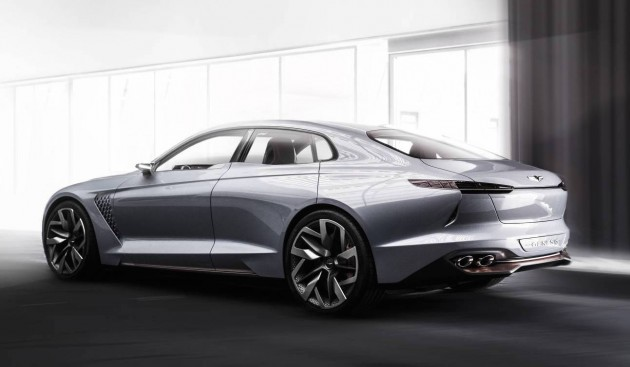 Genesis New York Concept-rear
